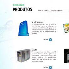 Listagem de produtos