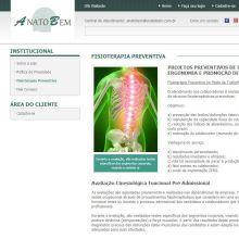 Página institucional da Anatobem