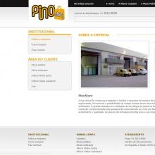 Página sobre a empresa